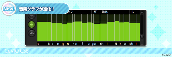 音素グラフが進化!